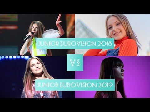 Junior Eurovision Battle | Junior Eurovision 2018 vs 2019