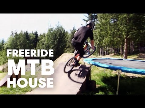 Ultimate freeride MTB house - Episode 1
