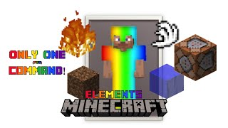 Control the Elements| Minecraft Only One Command
