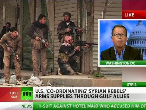 'Pentagon talks peace, arms Syria rebels via Gulf allies'