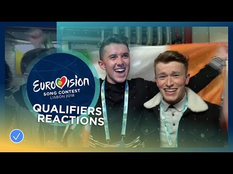 REACTION: Qualifiers get emotional after the first Semi-Final of the 2018 Eurovision Song Contest
