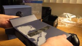 Call of Duty: Ghosts Hardened Edition (PS4 Version) Unboxing