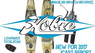 NEW 2017 Hobie Kayaks: Camo, Mirage Drive 180° w/ Reverse, & More! ICAST Report!