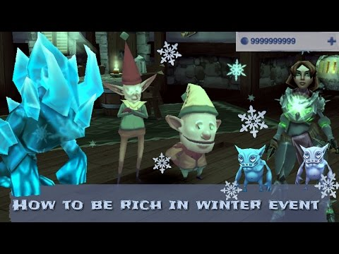 Arcane Legends - How to be rich in winter event