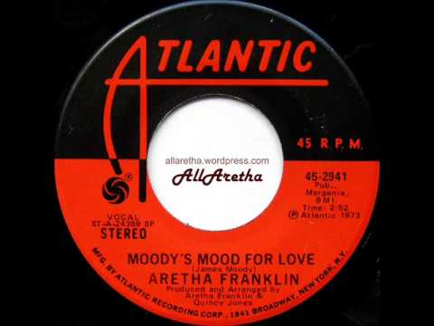 Aretha Franklin - Master Of Eyes (The Deepness Of Your Eyes) / Moody's Mood For Love - 7″ - 1973