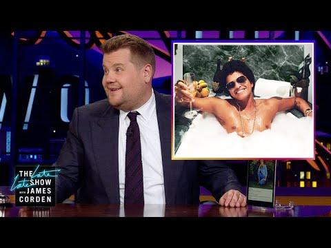 Celebrity Instagram: Bruno Mars, Britney Spears
