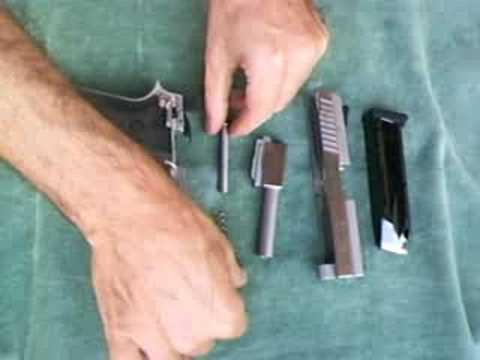 Assembling of a Taurus PT-938 .380 Pistol Video
