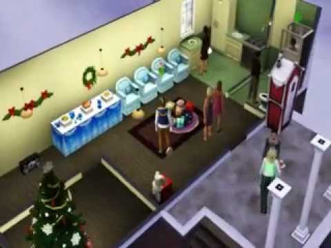 Sims 3 Seasons: Gift Giving Party Snippet