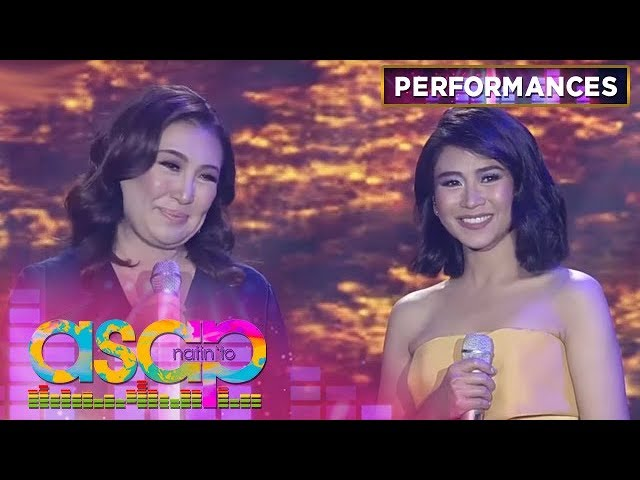 Sharon performs her timeless hits with Sarah G  | ASAP Natin 'To