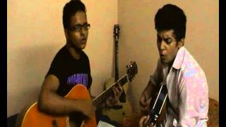 Jeene Laga Hoon - Ramaiya Vastavaiya - Unplugged -official cover Feat. SAM CHANDEL