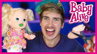 CUTTING OPEN KIDS TOYS - BABY ALIVE!