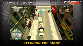 Grand Theft Auto Chinatown Wars Walkthrough - Mission #15 - Stealing The Show Game Video Walkthroughs