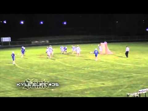 Kyle Eliff #35 - Berks Catholic High School : Junior Season Highlights