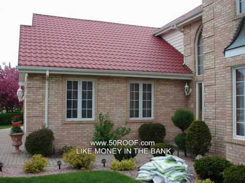 Metal Roof S Tile Spanish Tile Kynar Energy Star