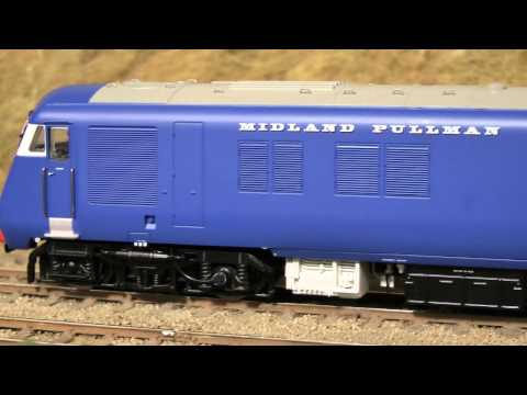 Bachmann Midland Pullman 6-car set - OO Scale in Nanking Blue - DCC Fitted!
