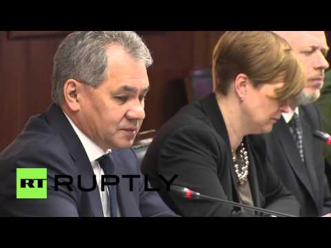 Russia: Shoigu calls on Serbia to assist in Palmyra demining operation