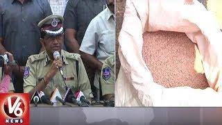 Task Force Police Busted Gutka Mafia In Old City - Seized Rs.3.5 Crore Worth Gutka  - netivaarthalu.com