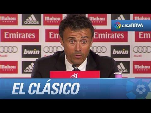Rueda de prensa de Luis Enrique tras el Real Madrid (3-1) FC Barcelona - HD