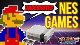Top 10 Most Underrated NES Games | Please Give These Classics a Chance