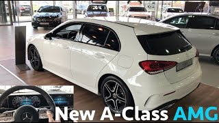 Mercedes-Benz 2019 New A-Class vs old - first in depth review in 4K | AMG line