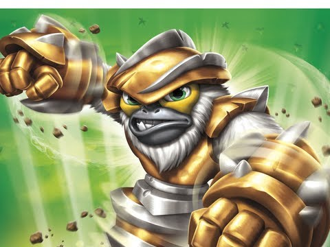 Skylanders Swap Force Gorilla Drilla Gameplay Gamescom
