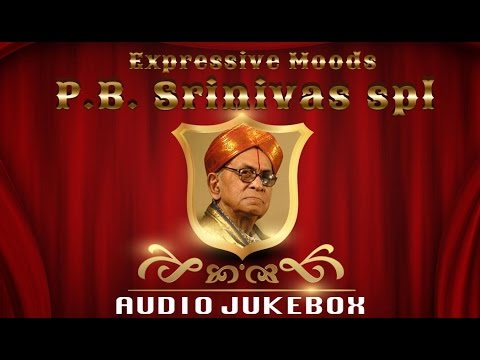 PB Srinivas Tamil Old Songs Collection  Expressive Moods Jukebox  Romantic Tamil Songs