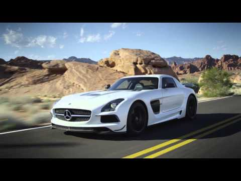 Mercedes-AMG SLS Black Series 2013 Trailer