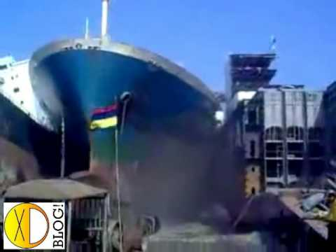 Accidente: Choque de Barcos