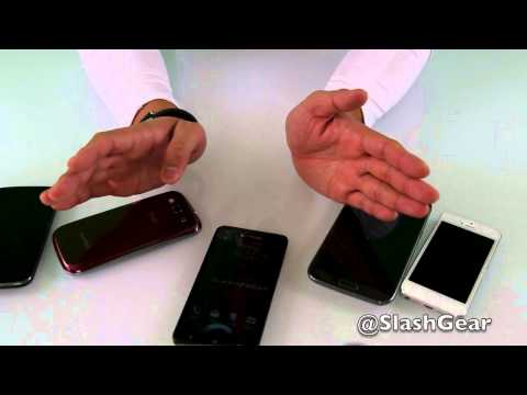 DROID DNA vs. Galaxy Note 2 vs. Galaxy S III vs. Nexus 4 vs. iPhone 5