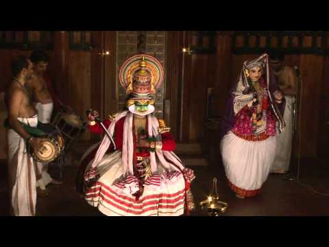Kathakali Schmink And Dance video