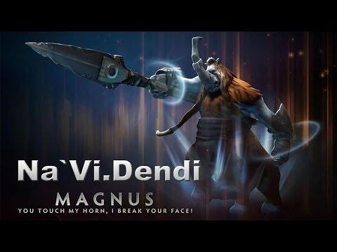 Dendi - Legendary Magnus (даже сетик есть)