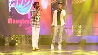 Dhanush and Anirudh at The 8th Edison Awards