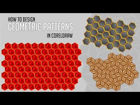 CorelDraw Tutorials | How to design Multiple Geometric Patterns in CorelDraw