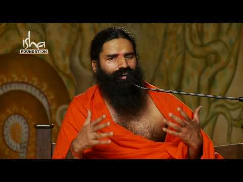 Baba Ramdev visits Isha Yoga Center - Part 1