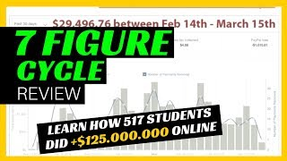 7 Figure Cycle Review - Learn How 517 Students Did $125,014,142 Online