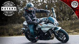 Suzuki Katana First Ride   Moto Review