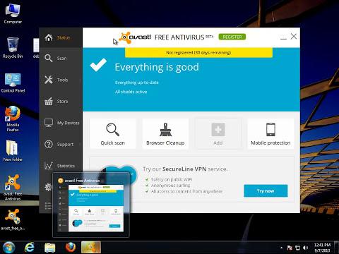 How to Uninstall avast FREE ANTIVIRUS 2014 V9.0