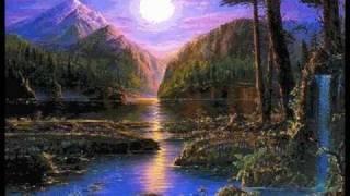 Ciemna nocka nad doliną