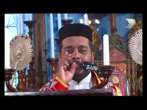 Fr. Joji Varghese Qurbana At Puthuppally Pally video