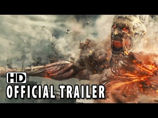 Attack on Titan Japanese Trailer  #2 (2015) - Haruma Miura Action Movie HD