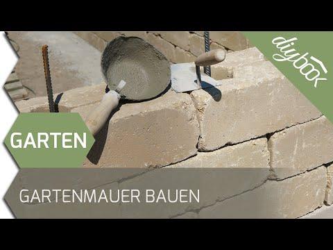 Gartenmauer Selber Bauen - Die Betonsteinmauer