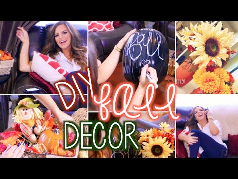 EASY DIY FALL DECOR |