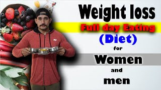 Full Day Diet for Weight loss & Fat loss | Women & Men | HINDI | JST'S Fitness