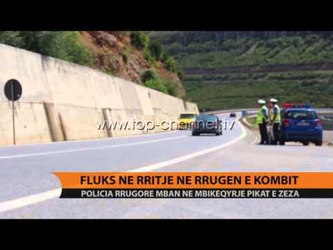 Fluks në rritje në Rrugën e Kombit - Top Channel Albania - News - Lajme