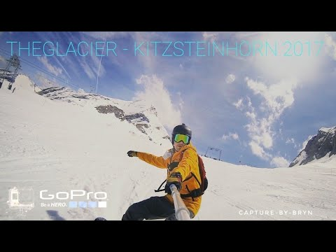 GOPRO EDITION: KITZSTEINHORN GLACIER: SNOWBOARDING: KAPRUN 2017  SUMMER SHREDDING