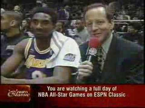 Kobe Bryant vs Michael Jordan 98 All Star Game NYC