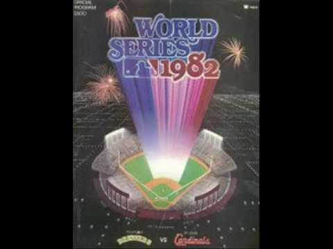 Recorded audio from AM1120 KMOX in St. Louis of the 9th inning of the 1982 World Series game seven. Legendary broadcaster Jack Buck calls the action.