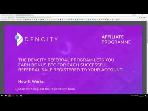 DenCity   Referral program, a terrific project !!!