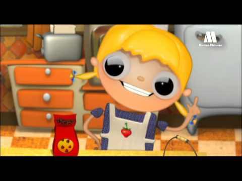 Receta cookies con chocolate - Telmo y Tula, caricaturas con ideas para cocinar con niños