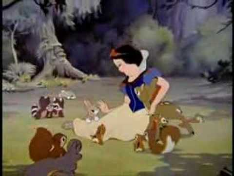 Snow White - With A Smile And A Song - Portuguese Brazil Music Videos